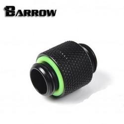 """Barrow G1/4"""" Male to Male Rotary - Siyah"""