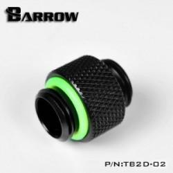 Barrow 10mm Male to Male Uzatma Aparatı – Siyah