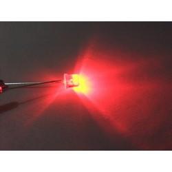 Kırmızı Led (5 mm - Kesikbaş)