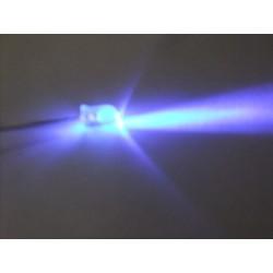UV Led (5 mm - Yuvarlak Uç)
