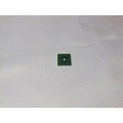 Küçük Kablo Sabitleyici (UV - Yeşil - 20*20 mm)