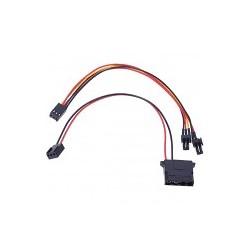Alphacool 4 Pin Molex to 3 Pin Pompa Çevirici Kablo