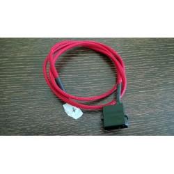 Cave ExPC 4 pin Molex Sleve Kablo-Kırmızı