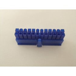 24 Pin Dişi Konnektör (UV - Mavi)