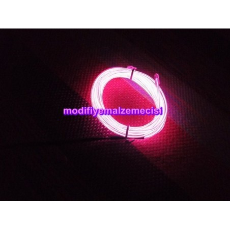 Pembe Neon (3 Metre - 2,5 mm)