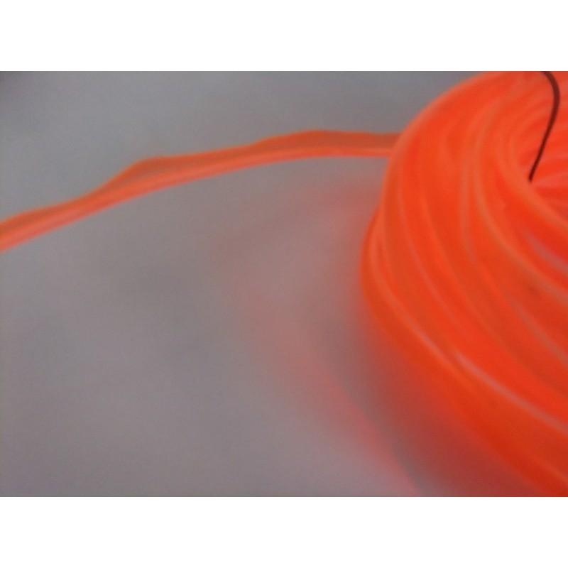 Turuncu Neon (Çıkıntılı) (3 Metre)