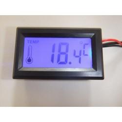Dijital Sıcaklık Ölçer (Mavi Ledli)