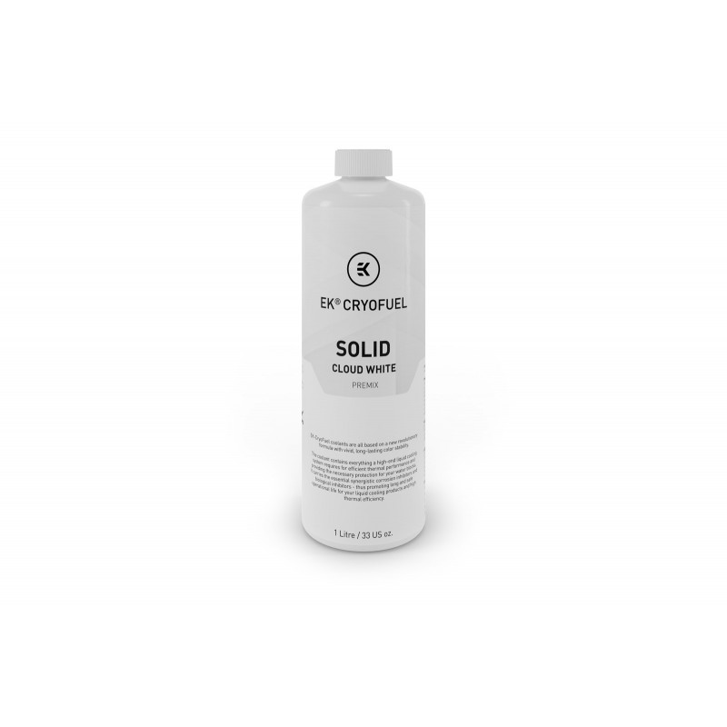 Ek-CyroFuel Solid Claud White 1000ml Sıvı - Beyaz