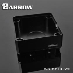 Barrow DDC Pompalar içi Alüminyum Soğutucu Kiti - Siyah