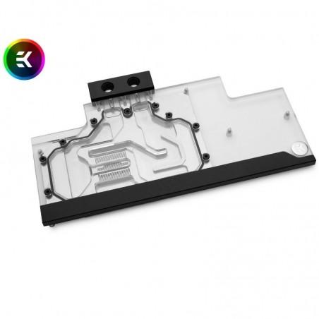 EK-FC Trio RTX 2080 Ti Classic RGB GPU Block – Nickel+Plexi