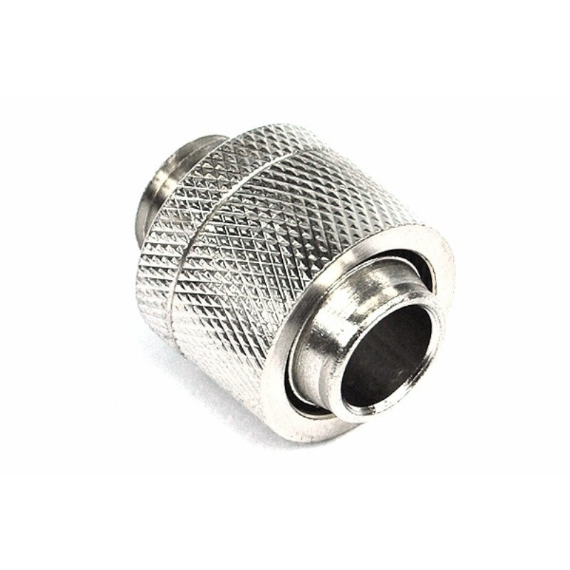 Phobya 16-13mm Sıkmatik Hortum Rakoru-Silver Nickel