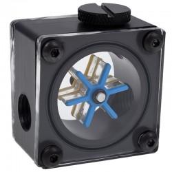 Alphacool Eisfluegel G1/4 Square Flow Meter - Acetal
