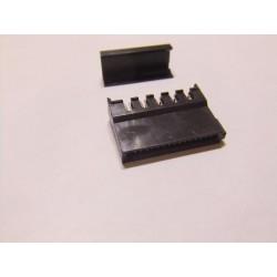 Sata Dişi Açılı Konnektör (Siyah)