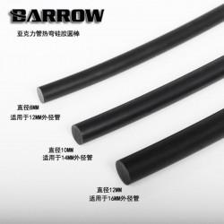 Barrow Arkilik Borular için Slikon 8mm- Siyah