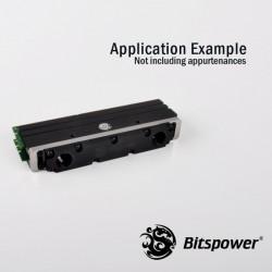 Bitspower Universal RAM Module Block - 2-DIMMs - Siyah