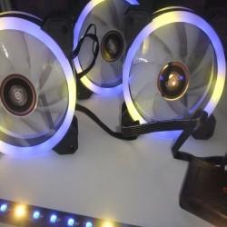Aigo DR12 (12 cm) RGB Fan 3lü Set