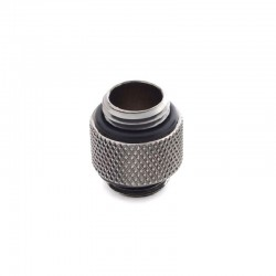 Bitspower G1/4″ Black Sparkle Dual Male to Male Uzatma Rakoru – Koyu Silver