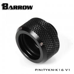 Barrow 16mm Sıkmatik Arkilik Boru Rakoru -  Siyah
