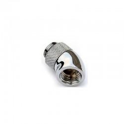"""Feser G1/4"""" 45° Açılı Rotaryli Dirsek - Silver"""