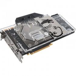 EK-FC1080 GTX Ti TF6 – Plexi+Nikel GPU Block